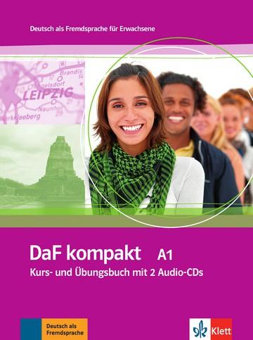 DaF kompakt A1 Studentenboek en Übungsbuch + 2 Audio-CDs
