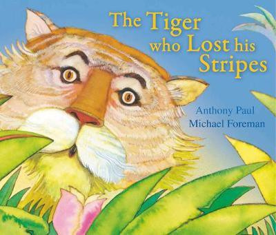 The Tiger Who Lost His Stripes (Michael Foreman and Anthony Paul) Paperback / softback