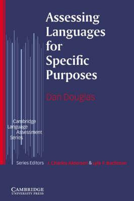 Cambridge Language Assessment: Assessing Languages for Specific Purposes