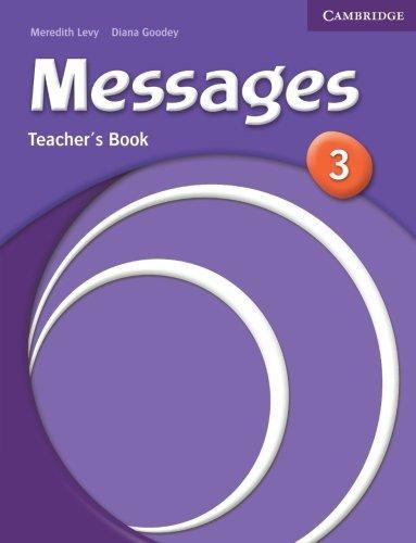 Messages Level3 Teacher's Book