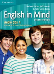 English in Mind Second edition Level4 Audio CDs (4)