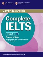 Complete IELTS Bands4-5B1 Teacher's Book