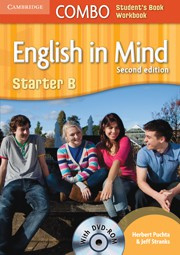 English in Mind Second edition StarterB Combo with DVD-ROM
