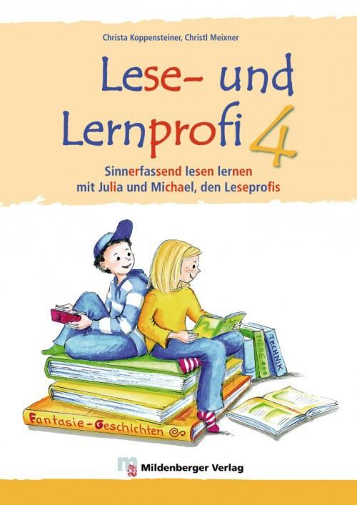 Lese- en Lernprofi 4 – Schülerarbeitsheft – silbierte Ausgabe Leseheft