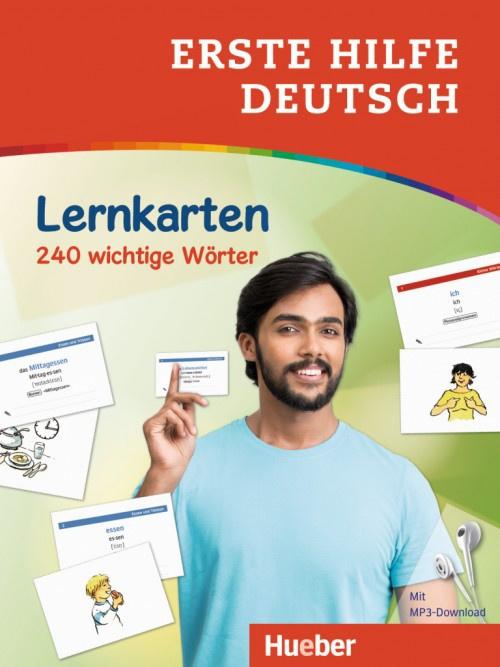 Erste Hilfe Deutsch –  Lernkarten met kostenlosem MP3 Download