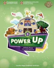 Power Up Level1 Activity Book with Online Resources and Home Booklet