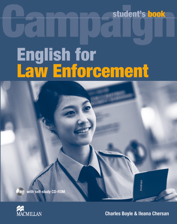 English for Law Enforcement Student's Book Pack