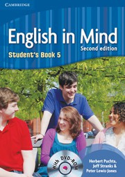 English in Mind Second edition Level5 Student's Book with DVD-ROM