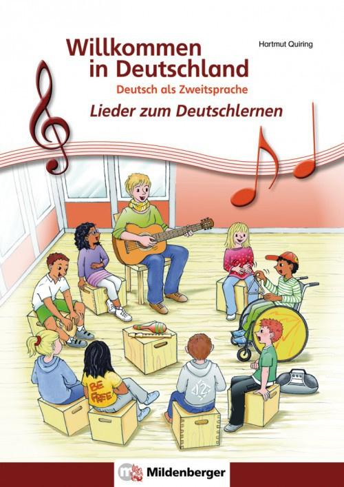 Willkommen in Deutschland - Lieder bij het Deutschlernen Schülerheft