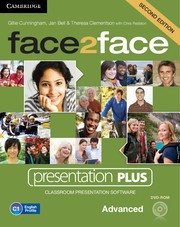 face2face Second edition Advanced Presentation Plus DVD-ROM