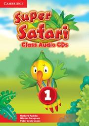 Super Safari British English Level1 Class Audio CDs (2)