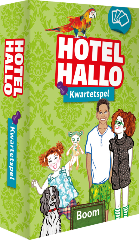 Hotel Hallo - Kwartetspel