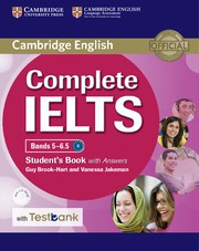 Complete IELTS Bands5-6.5B2 Student's Book with answers with CD-ROM with Testbank