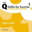 Q: Skills For Success Level 1 Listening & Speaking Class Audio Cd (x3)