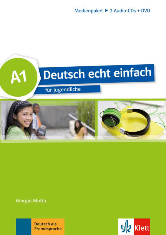 Deutsch echt einfach A1 Multimediapakket (2 Audio-CDs + DVD)