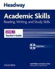 Headway Academic Skills 3 Reading, Writing, And Study Skills Teacher's Guide With Tests Cd-rom