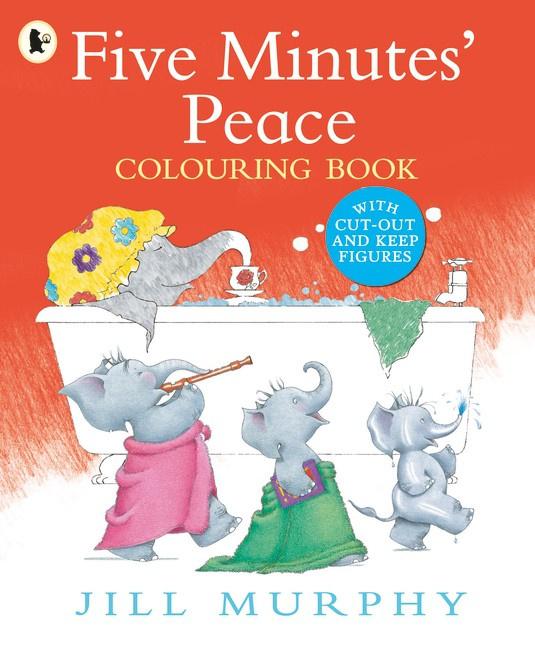 Five Minutes' Peace Colouring Book (Jill Murphy)