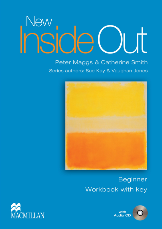 Inside Out New Beginner Workbook (With Key) & Audio CD Pack