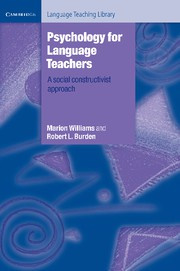 Psychology for Language Teachers Paperback