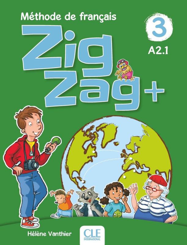 Zigzag + - Niveau 3 - Livre de l'élève