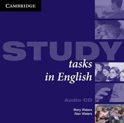 Study Tasks in English Audio CDs (2)