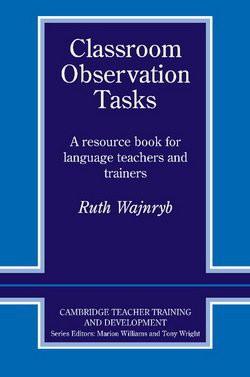 Classroom Observation Tasks Paperback