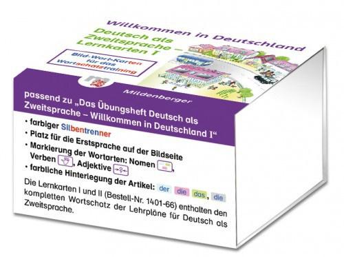 Willkommen in Deutschland – Deutsch als Zweitsprache Lernkarten  I Lernkarten I