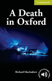 A Death in Oxford: Paperback