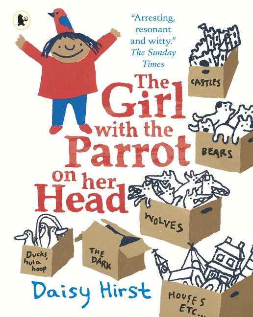 The Girl With The Parrot On Her Head (Daisy Hirst)