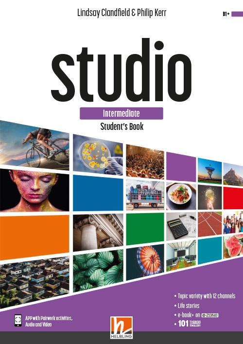 STUDIO intermed. Student's Book + e-zone