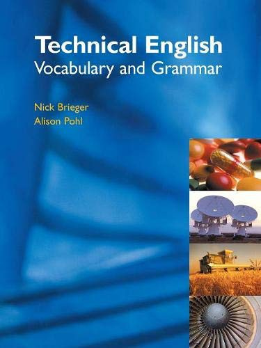 Technical English: Vocabulary Student's Book