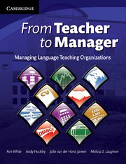 From Teacher to Manager Paperback