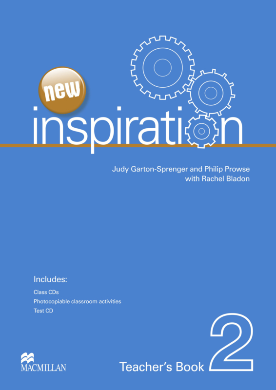 Inspiration New Edition Level 2 Teacher's Book Test & Audio CD Pack