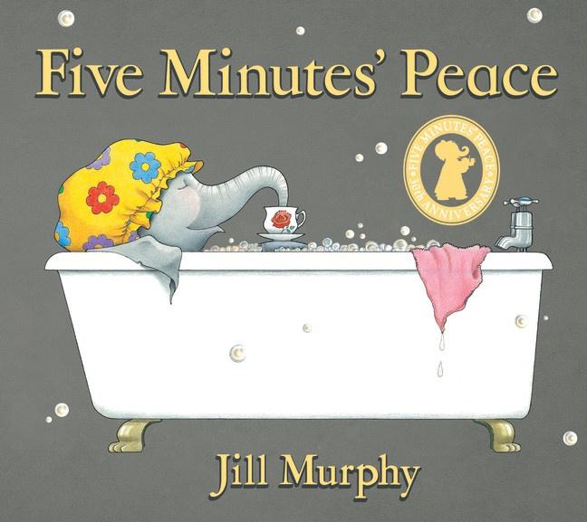 Five Minutes' Peace 30th Anniversary Edition (Jill Murphy)