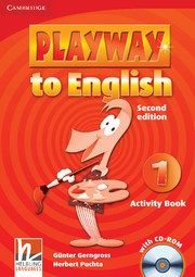 Playway to English Second edition Level1 Activity Book with CD-ROM