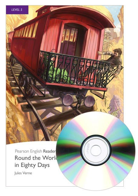 Round the World in 80 Days Book & CD Pack