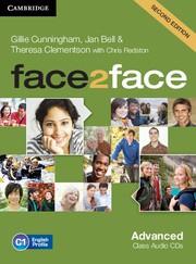 face2face Second edition Advanced Class Audio CDs (3)
