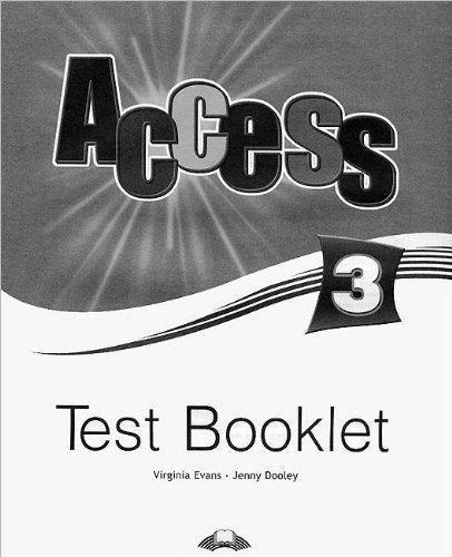 Access 3 Test Booklet (international)