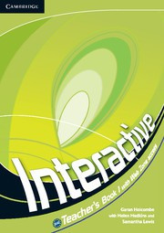 Interactive Level1 Teacher's Book with Web Zone access