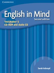 English in Mind Second edition Level5 Testmaker CD-ROM and Audio CD