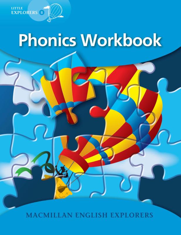 Little Explorers B -   Phonics Book