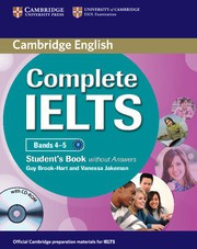 Complete IELTS Bands4-5B1 Student's Book without answers with CD-ROM