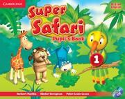 Super Safari British English Level1 Pupil's Book with DVD-ROM