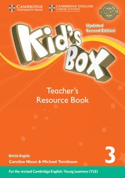 Kid's Box Updated Second edition Level3 Teacher's Resource Book with Online Audio
