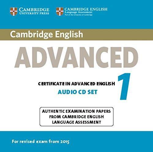 Cambridge English Advanced 1 Audio CDs (2)
