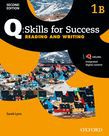 Q Skills For Success Level 1 Reading & Writing Split Student Book B With Iq Online