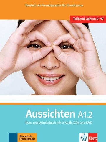 Aussichten A1.2 Studentenboek/Werkboek met 2 Audio-CDs + DVD