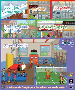 Zoom 2 – Pack de 6 posters