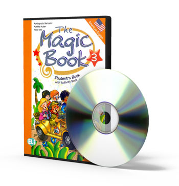 The Magic Book 3 Class Digital Book - Dvd