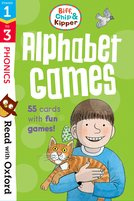 Stages 1-3: Biff, Chip and Kipper: Alphabet Games Flashcards
